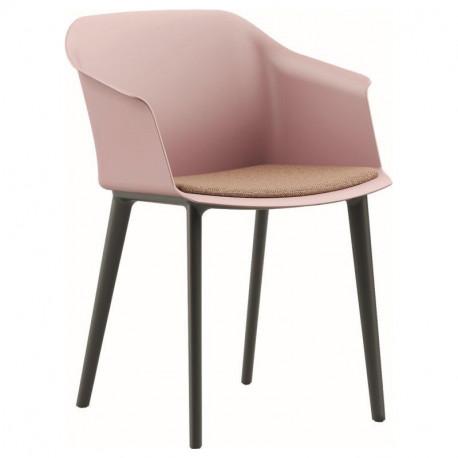 Designové křeslo AURU - čalouněný sedák
