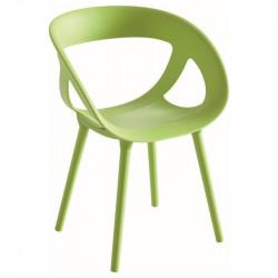 Designová židle POE - celoplastová