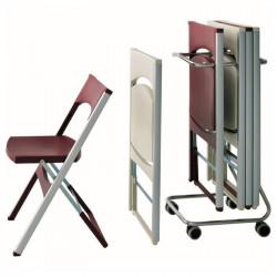Designová židle PACT - skládací