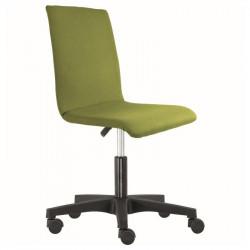 Kolečková židle ELI - celočalouněná