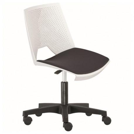 Otočná židle TRIK - čalouněný sedák