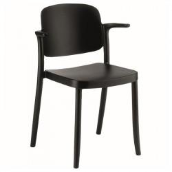 Plastová židle AZA - s područkami