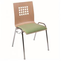 Židle VIO - čalouněný sedák