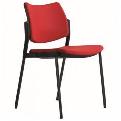 Židle DESI - 4 nohy, čalouněná