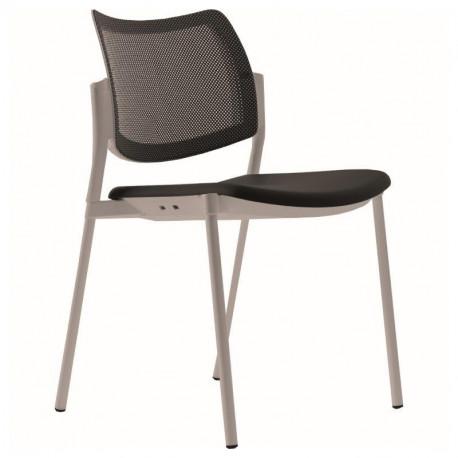 Židle DESI - 4 nohy, síťovaná