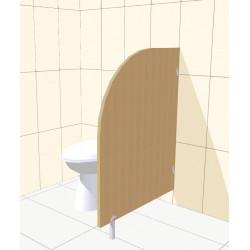 Paráván mezi WC