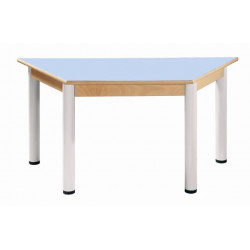 Stůl trapézový 120 x 60 cm LAMINO
