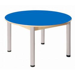 Stůl kruh průměr 100 cm LAMINO
