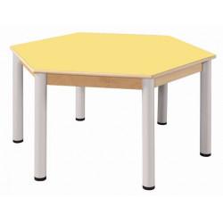 Stůl šestiúhelník 120 cm UMAKART