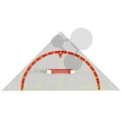 Geometrický trojúhelník 45°, 60 cm