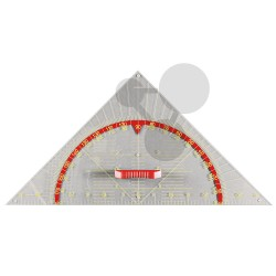 Geometrický trojúhelník 45°, 80 cm