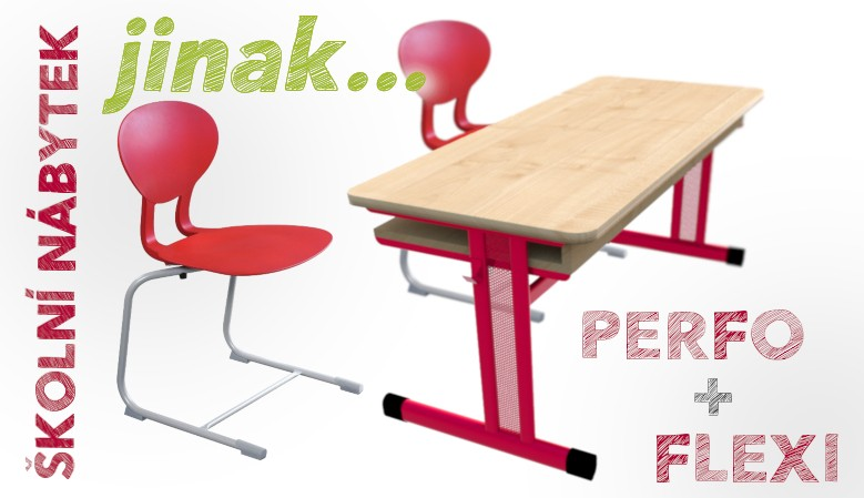 Školní lavice a židle jinak