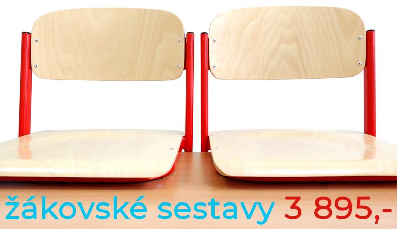 Školní lavice a židle - školní nábytek