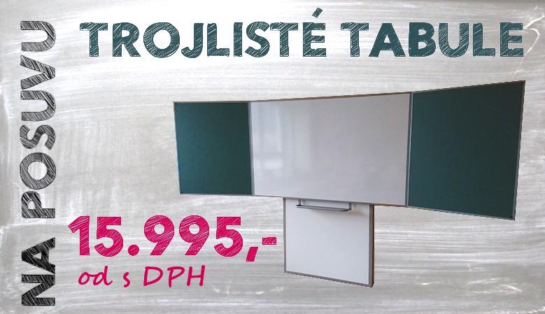Kvalitní keramické magnetické školní tabule vyrobené v ČR
